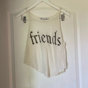 Wildfox Friends Tank Top